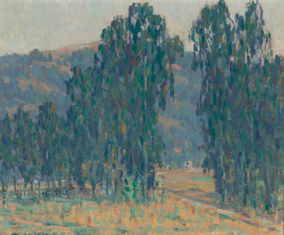 Rinaldo Cuneo (1877-1939) A view through the trees 20 x 24in