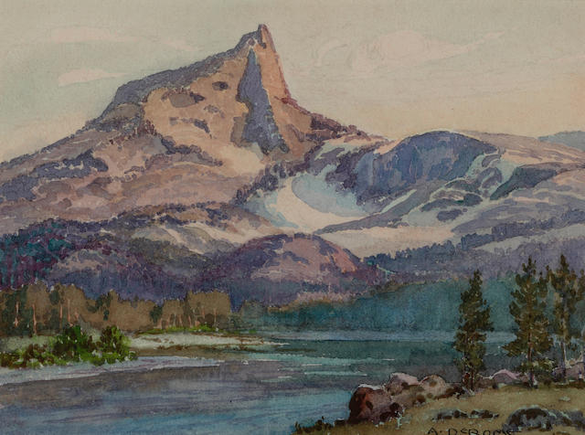 Albert DeRome, Cathedral Peak, Lower Cathedral