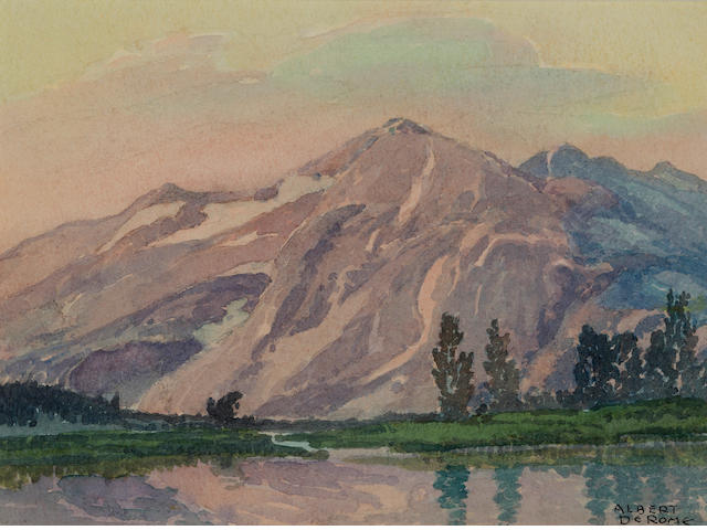 Albert DeRome, Kuna Crest, Mammoth Peak