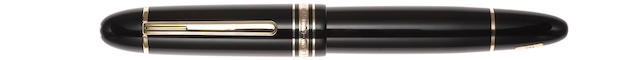 MONTBLANC: Andrée Putman 149 UNICEF Limited Edition 4810 Fountain Pen