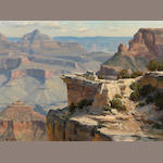 Clyde Aspevig (American, born 1951) Grand Canyon, 1984 12 x 16in