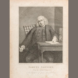 BOSWELL, JAMES. 1740-1795. The Life of Samuel Johnson, LL.D....  London: printed by Henry Baldwin for Charles Dilly, 1791..