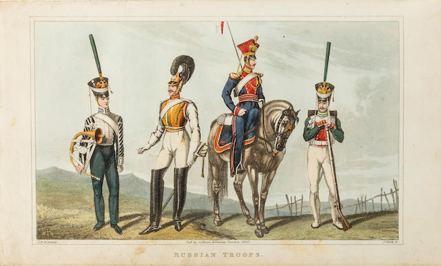 ALEXANDER, JAMES EDWARD. 1803-1885. Travels to the Seat of War in the East.... London: Henry Colburn and Richard Bentley, 1830.