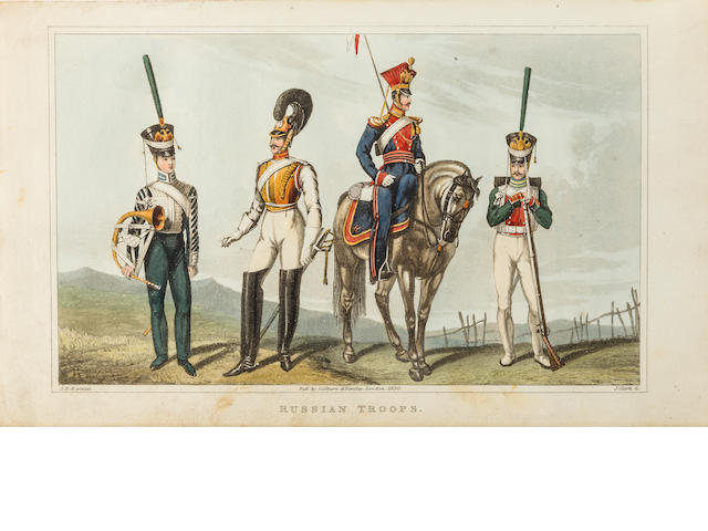 ALEXANDER, JAMES EDWARD. 1803-1885. Travels to the Seat of War in the East.... London: Henry Colburn and Richard Bentley, 1830.<BR />