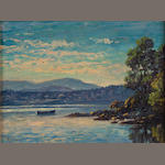 Paul A. Grimm (American, 1891-1974) Deep Cove, near Victoria, Vancouver Island, October 1930 9 x 12in
