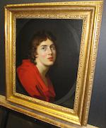 French School, 19th Century A portrait of a youth, bust-length 21 1/4 x 18in