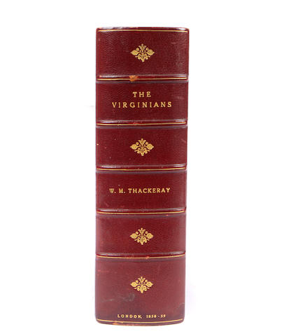 THACKERAY, W.M. The Virginians. London: Bradbury & Evans, 1858.