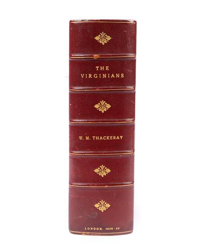 THACKERAY, W.M.  The Virginians. London: Bradbury & Evans, 1858.
