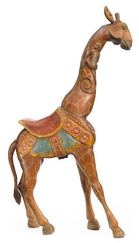 A Mexican carousel giraffe