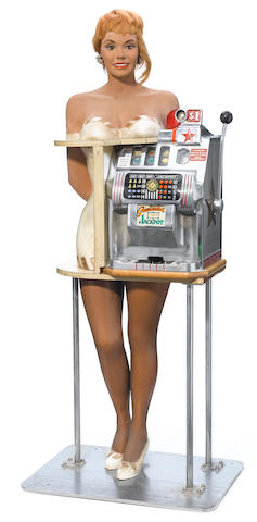 An Ace Novelty Co. figural slot machine  <BR />20th century