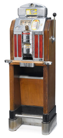 A Jenning's slot machine <BR />early 20th century
