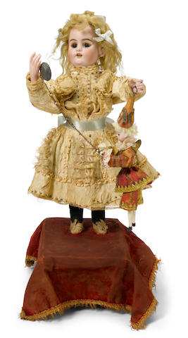 A marionette player <BR />French, late 19th/early 20th century