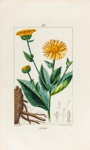 CHAUMETON, FRANÇOIS PIERRE. 1775-1819. Flore médicale. Paris: Panckouke, 1814-1819.<BR />
