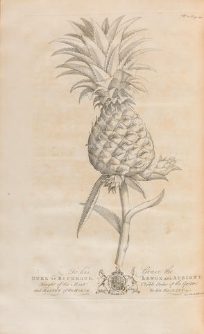 HUGHES, GRIFFITH. 1707-1779. The Natural History of Barbados. London: for the Author, 1750.