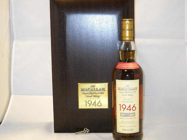 Macallan Select Reserve 1946- 52 year old (1)