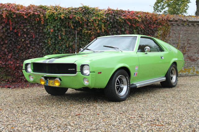 1969 AMC AMX California 500 Special  Chassis no. A9C397X288507