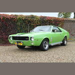 1969 AMC AMX Coupe  Chassis no. A9C397X288507