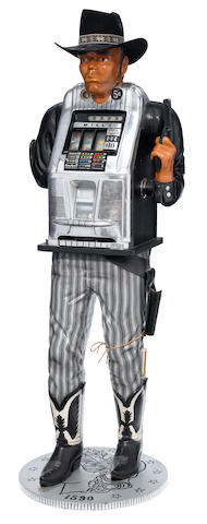 "A Mills ""One-Armed Bandit"" slot machine"
