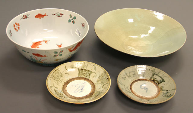 An assembled group of Chinese ceramics