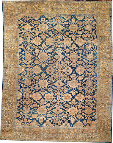 A Sultanabad carpet Central Persia size approximately 11ft. 8in. x 15ft. 3in.