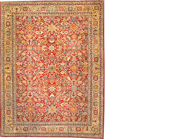 A Sultanabad carpet Central Persia size approximately 10ft. 9in. x 14ft. 2in.