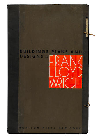 WRIGHT, FRANK LLOYD. 1867-1959. Buildings, Plans, and Designs. New York: Horizon Press, 1963.