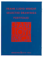 WRIGHT, FRANK LLOYD. 1867-1959. Selected Drawings Portfolio. New York: Horizon Press, 1977-1982.