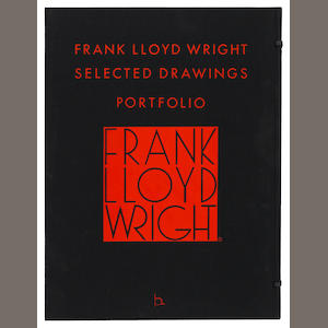 WRIGHT, FRANK LLOYD. 1867-1959. Selected Drawings Portfolio. New York: Horizon Press, 1977-1982..