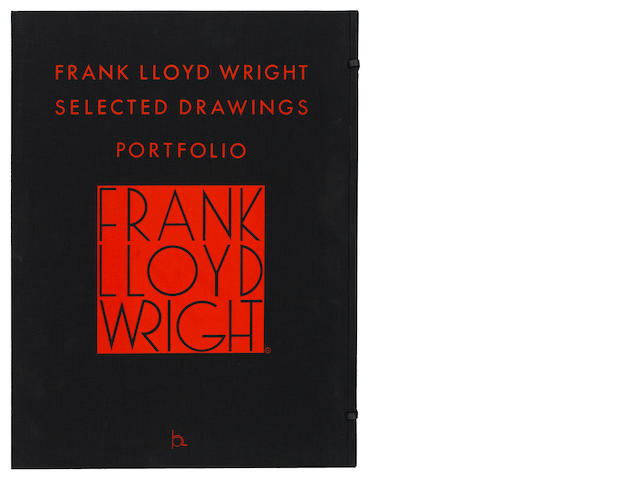 WRIGHT, FRANK LLOYD. 1867-1959. Selected Drawings Portfolio. New York: Horizon Press, 1977-1982.<BR />
