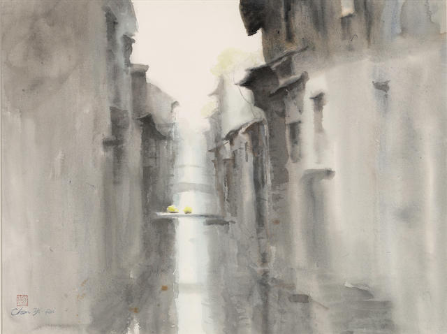 Chen Yifei (1946-2005)  Untitled