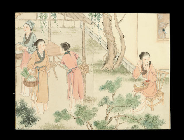 Hu Xigui (1839-1883) Album of Figures