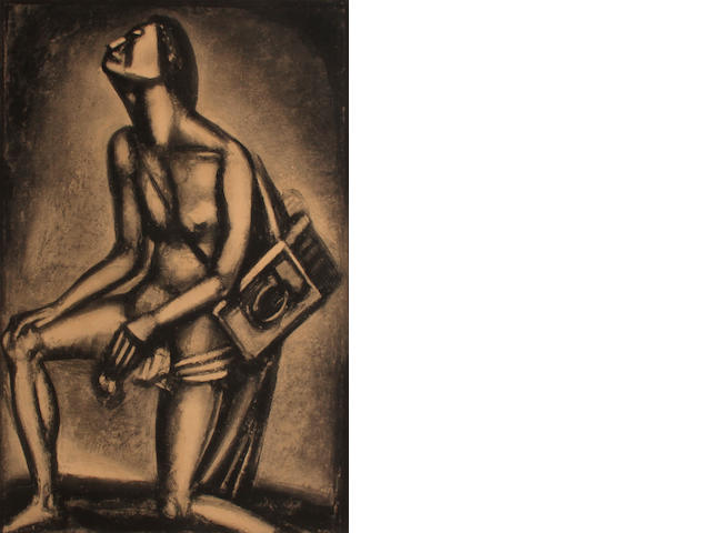 Georges Rouault (French, 1871-1958); Sunt Lacrymae Rerum, Plate XXVII, from Miserere;
