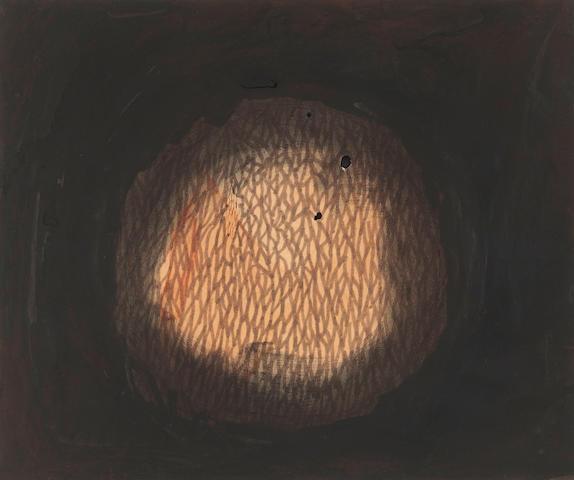 Yayoi Kusama (born 1929) Light No. 2, 1962 11 3/4 x 14 1/2in. (29.9 x 36.8cm)