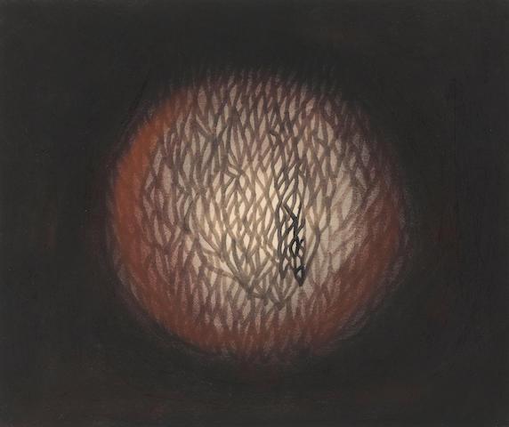 Yayoi Kusama (born 1929) Light No. 1, 1962 12 x 14 1/2in. (30.5 x 36.8cm)
