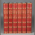 GREVILLE, CHARLES C.F. Memoirs. London: 1874-1887. 8 vols. Half crimson morocco over cloth.