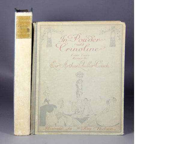 QUILLER-COUCH, ARTHUR, SIR. In Powder and Crinoline: Old Fairy Tales.... London: [1913]. Illus. by Kay Nielson. 4to. Orig. cloth. 2 copies - regular & deluxe issues.