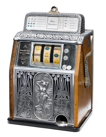 "A ""B"" Company slot machine <BR />early 20th century"