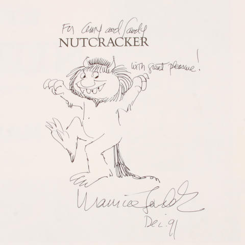 SENDAK, MAURICE, illustrator. 1928-2012. HOFFMANN, E.T.A. Nutcracker. New York: Crown, [1984].
