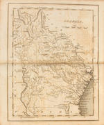 CAREY, MATHEW. 1760-1839. Carey's American Pocket Atlas ... with a Brief Description of Each State and Territory. Philadelphia: Mathew Carey, 1814.<BR />