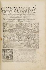 MÜNSTER, SEBASTIAN. 1489-1552. Cosmographiae universalis lib. VI. Basel: Heinrich Petri, 1559.<BR />