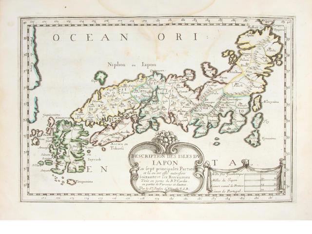 SANSON D'ABBEVILLE, NICHOLAS. 1600-1667. L'Asie en plusieurs cartes, nouvelles, et exactes; etc. Paris: chez l'autheur, 1662.<BR />
