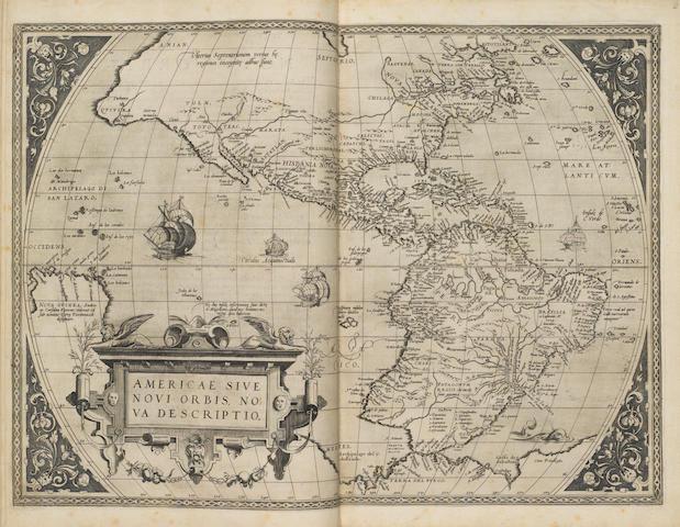 ORTELIUS, ABRAHAM. 1527-1598. Theatrum Orbis Terrarum. [Antwerp: Aegidius Coppenius Diesth, May 20, 1570.]