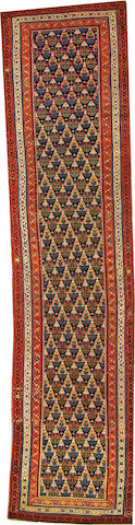 A Northwest Persian runner  Northwest Persia size approximately 3ft. 7in. x 15ft. 2in.