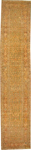 A Northwest Runner  Northwest Persia size approximately 3ft. 5in. x 16ft. 1in.