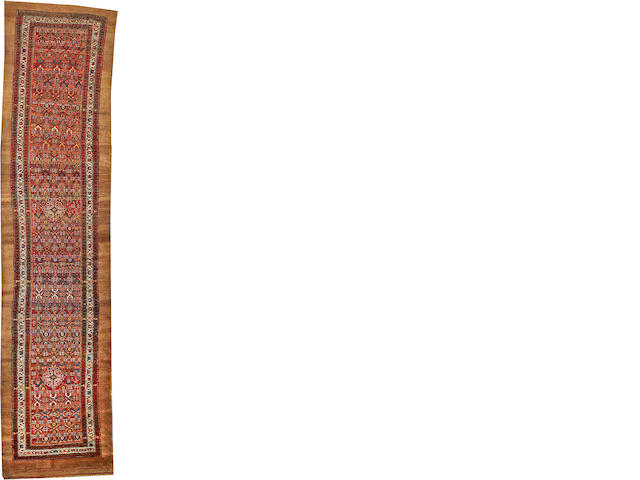 A Serab runner  Northwest Persia size approximately 3ft. 1in. x 13ft. 6in.