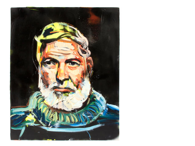 David Gant, A portrait of Ernest Hemingway