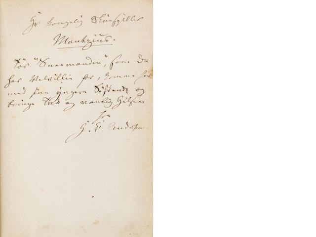 ANDERSEN, HANS CHRISTIAN. 1805-1875. Nye eventyr og historier.  Copenhagen: Reitzel, 1868.<BR />