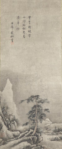 After Sesson (Satake Shukei, 1504-89?)<BR />Landscapes