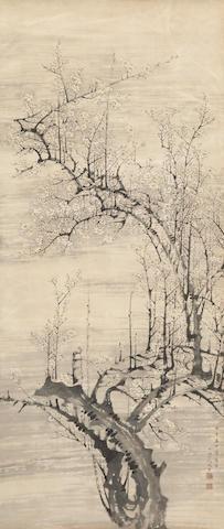 After Nakabayashi Chikuto (1776-1853)<BR />Winter Perfume