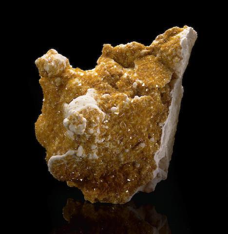 Wulfenite Crystals on Matrix